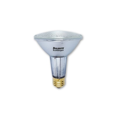 Bulbrite Halogen PAR30LN 39W Dimmable 2900K Soft White Wide Flood Light Bulb, 6 Pack (683436)