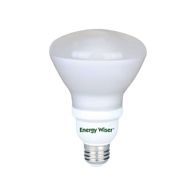 Bulbrite Compact Fluorescent (CFL) R30 15W 4100K Cool White Light Bulb, 4 Pack (511401)