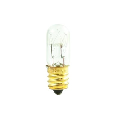 Bulbrite Incandescent (INC) T4 6W Dimmable 2700K Warm White Light Bulb, 50 Pack (708106)