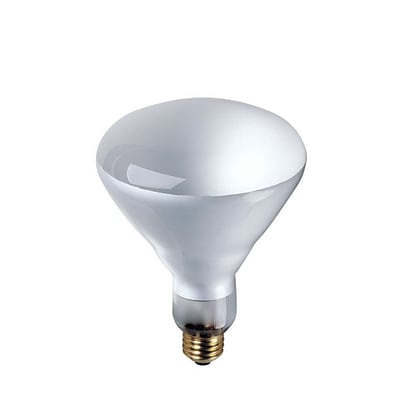 Bulbrite Incandescent (INC) BR40 65W Dimmable 2700K Warm White Flood Light Bulb, 6 Pack (258006)