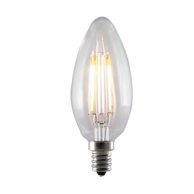 Bulbrite LED B11 2.5W Dimmable 2700K Warm White Light Bulb, 4 Pack (776655)