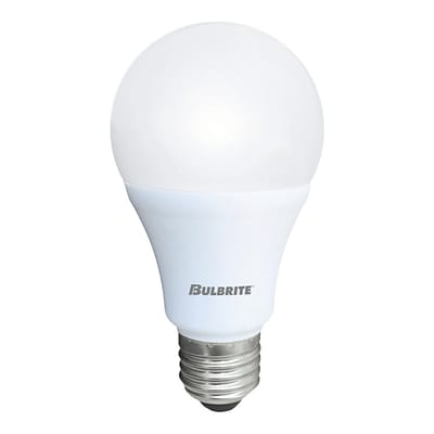 Bulbrite LED A19 9W 3000K Soft White Light Bulb, 8 Pack (774109)
