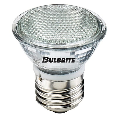 Bulbrite Halogen MR16 20W Dimmable 2900K Soft White 38D Light Bulb, 5 Pack (620220)