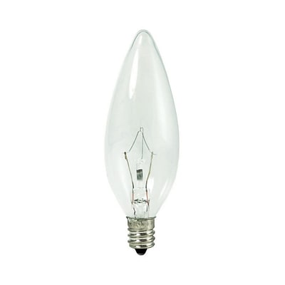 Bulbrite Krypton B10 40W Dimmable Clear 2700K Warm White Light Bulb, 20 Pack (460040)