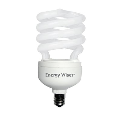 Bulbrite Compact Fluorescent (CFL) T2 13W 2700K Warm White Light Bulb, 4 Pack (509011)