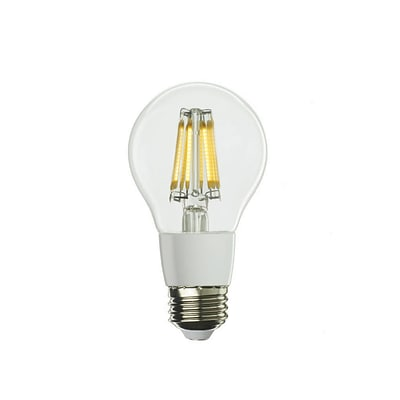 Bulbrite LED A19 7W Dimmable 2700K Warm White 280D Light Bulb, 2 Pack (776550)
