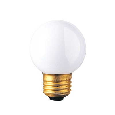 Bulbrite Incandescent (INC) G16.5 40W Dimmable 2700K Warm White Light Bulb, 40 Pack (310240)