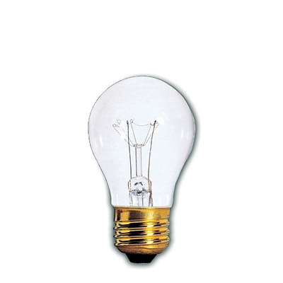 Bulbrite Incandescent (INC) A15 60W Dimmable Clear 2700K Warm White Light Bulb, 12 Pack (104361)