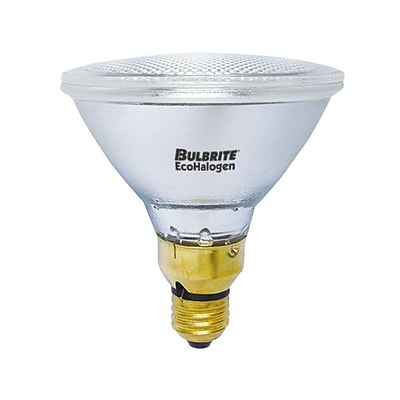 Bulbrite Halogen PAR38 60W Dimmable 2900K Soft White Wide Flood Light Bulb, 4 Pack (684453)