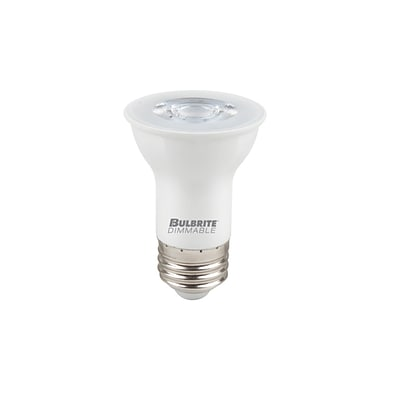 Bulbrite LED PAR16 6W Dimmable 2700K Warm White Light Bulb, 1 Pack (771411)