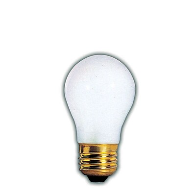 Bulbrite Incandescent (INC) A15 60W Dimmable Frost 2700K Warm White Light Bulb, 12 Pack (104360)