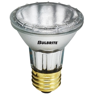 Bulbrite Halogen PAR20 35W Dimmable 2900K Soft White 10D Light Bulb, 6 Pack (682031)