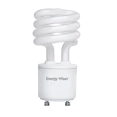 Bulbrite Compact Fluorescent (CFL) T2 13W 2700K Warm White Light Bulb, 4 Pack (509700)