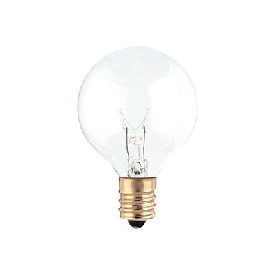 Bulbrite Incandescent (INC) G12 15W Dimmable Clear 2700K Warm White Light Bulb, 50 Pack (301015)