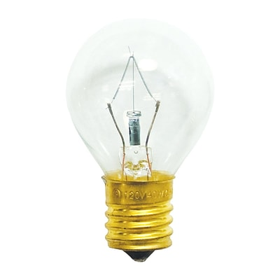 Bulbrite Incandescent (INC) S11 40W Dimmable Clear 2700K Warm White Light Bulb, 25 Pack (702140)