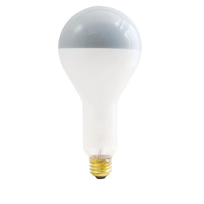 Bulbrite Incandescent (INC) PS30 200W Dimmable Frost Silver Bowl 2700K Warm White Light Bulb, 6 Pack (717200)