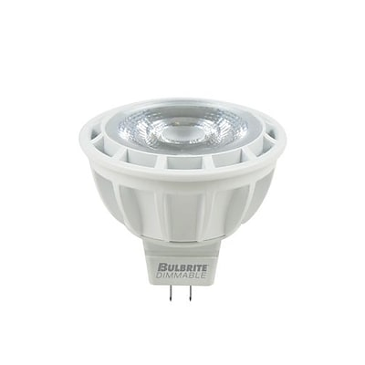 Bulbrite LED MR16 8W Dimmable 3000K Soft White Light Bulb, 1 Pack (771308)