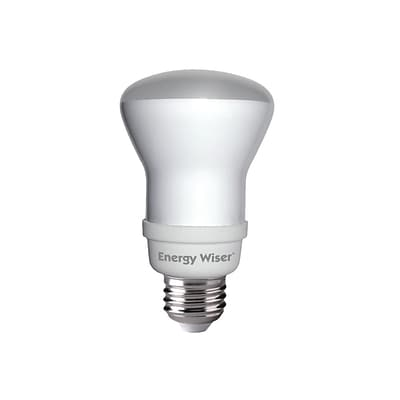 Bulbrite Compact Fluorescent (CFL) R20 11W 4100K Cool White Light Bulb, 4 Pack (511216)
