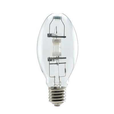 Bulbrite High Intensity Discharge (HID) ED28 175W Clear 4000K Cool White Light Bulb, 2 Pack (663175)