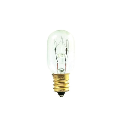 Bulbrite Incandescent (INC) T7 15W Dimmable Frost 2700K Warm White Light Bulb, 25 Pack (706015)