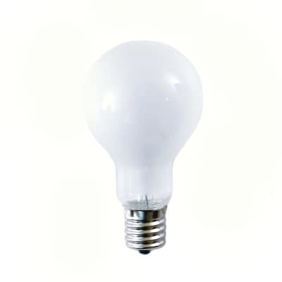 Bulbrite Incandescent (INC) A15 40W Dimmable Frost 2700K Warm White Light Bulb, 12 Pack (104240)