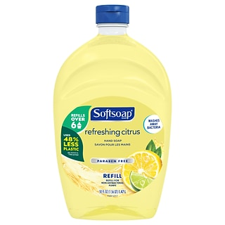 Softsoap Liquid Hand Soap Refill, Refreshing Citrus, 50 Fl. oz. (US07336A)
