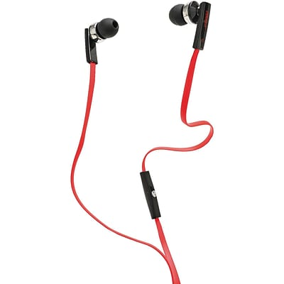 2BOOM EP500MVR Professional Sound Earphones, Red