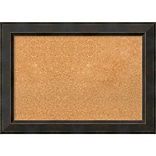 Amanti Art Medium, Signore Bronze 29W x 21H Framed Cork Board (DSW1288170)