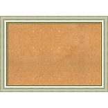 Amanti Art Extra Large Vegas Burnished Silver 41W x 29H Framed Cork Board (DSW3571225)