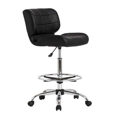 Studio Designs 32.25H Black  Studio Designs Crest Drafting Chair  (10959)