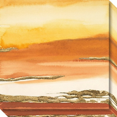 Amanti Art Canvas Art Gallery Wrap Gilded Amber I v2 by Chris Paschkee 20W x 20H (DSW3897238)