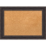 Amanti Art Small Rustic Pine 21W x 15H Framed Cork Board (DSW3907464)