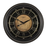"Studio Designs Home Classic Villa Wall Clock  24"" Antique Bronze (73001)"