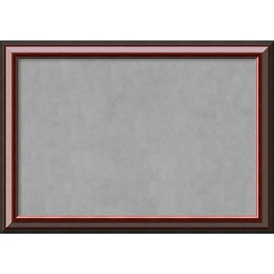 Amanti Art Extra Large Cambridge Mahogany 40W x 28H Framed Magnetic Board (DSW3908075)