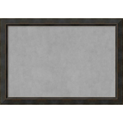 Amanti Art Framed Magnetic Board Extra Large Signore Bronze 41W x 29H Frame Bronze (DSW3908320)