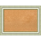Amanti Art Medium Vegas Burnished Silver 29W x 21H  Framed Cork Board (DSW3908332)