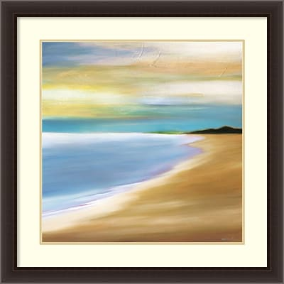 Amanti Art Framed Art Print Distance by Mary Johnston 34 x 34H, Frame Dark Espresso (DSW3908979)