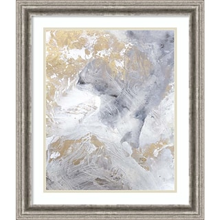 Amanti Art Framed Art Print Gold Fusion II by Julia Contacessi 23W x 27H Frame Silver (DSW3909205)