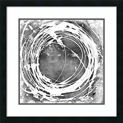Amanti Art Framed Art Print Three-Sixty I by Ethan Harper 26W x 26H Frame Satin Black (DSW3909226)