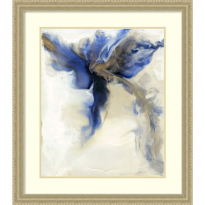 Amanti Art Framed Art Print Love in Action III by Lila Bramma 29W x 33H Frame Champagne (DSW3909375)