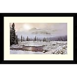 Amanti Art Framed Art Print Sacred Presence by David M (Maclean) 36 x 24H, Frame Satin Black  (DSW