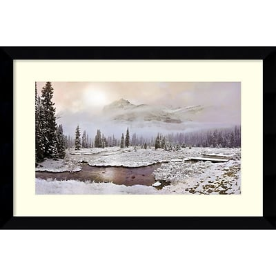 Amanti Art Framed Art Print Sacred Presence by David M (Maclean) 36 x 24H, Frame Satin Black  (DSW3909437)