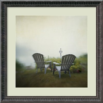 Amanti Art Framed Art Print Being Present in the Moment by Dawn D. Hanna 23 x 23H, Frame Black  (DSW3909472)