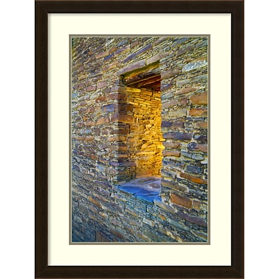 Amanti Art Framed Art Print Portal by Andy Magee  21 x 28H, Frame Espresso Brown (DSW3909756)