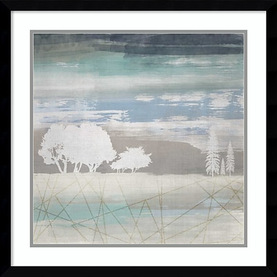 Amanti Art Framed Art Print From the Earth II by Louis Duncan-he  23W x 23H, Frame Satin Black (DSW3910558)