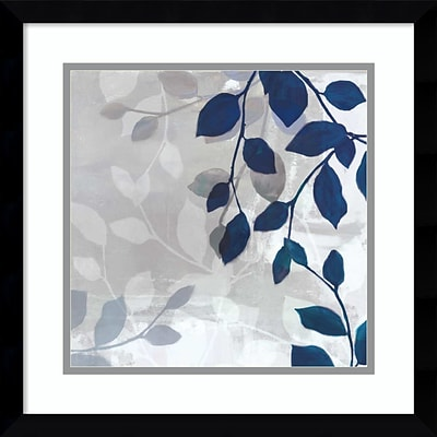 Amanti Art Framed Art Print Leaves in the Mist I by Tandi Venter 17W x 17H, Frame Stain Black  (DSW3910564)