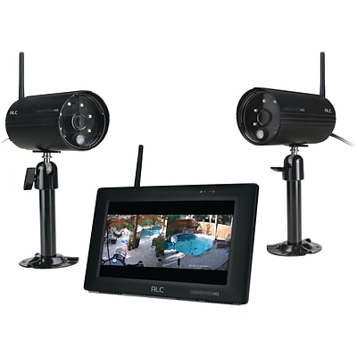 ALC AWS3377 Observer HD 1080p Full HD 4-Channel 7 Touchscreen Monitor with 2 Cameras