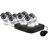 Swann SWDVK-8HD5MP8-US 8-Channel HD5MP Series 5.0-Megapixel DVR with 2TB HD and 8 Bullet Cameras