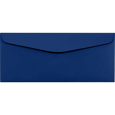 LUX #10 Regular Envelopes (4 1/8 x 9 1/2) 500/Pack, Navy (LUX4260103500)