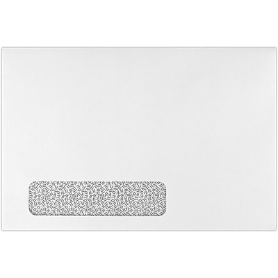 LUX 6 x 9 Booklet Window Envelopes 500/Pack, 24lb. White w/ Sec. Tint (69BW-24WMI-500)